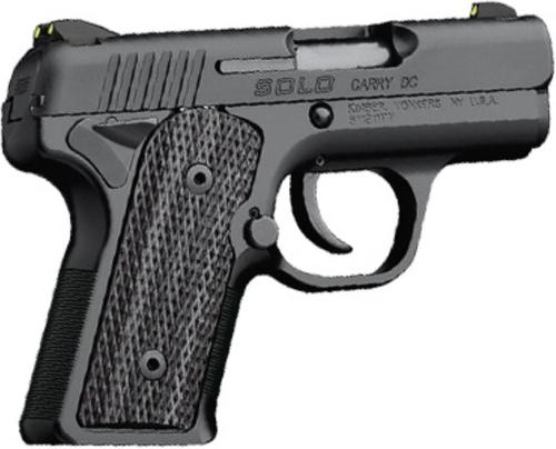"""Kimber Solo Carry DC 9mm 3.5"""" Barrel Ambi Safety Matte Black Finish 6 Rd"""